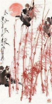东风朱霞 by xu peichen