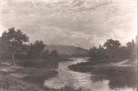 lazy river in summer by frederick d. ogden