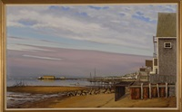 view of provincetown harbor by steve kennedy