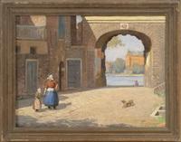 a city arch, france by harold c. dunbar