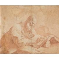 der heilige hieronymus by giuseppe antonio petrini