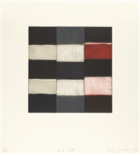 red robe by sean scully