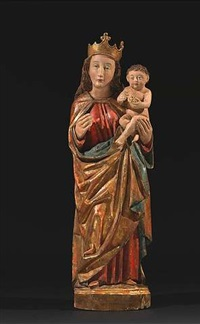 muttergottes (traubenmadonna) by german school-southern (15)