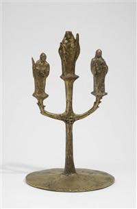 madonna mit kind, bischoff und heiligen by christine stadler