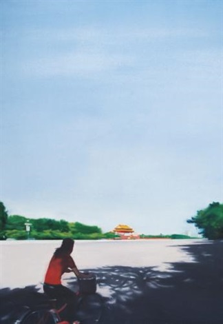 tiananmen square series no 1 by zhang jian
