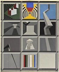 geometrische komposition by fritz mikesch