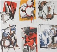 il mio regno per un cavallo (10 works) by nag arnoldi