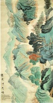梅柳渡江春图 by wu hufan