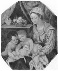 madonna mit kind und dem johannesknaben by johann mathias kager