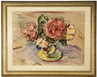 floral still life by clarence hinkle
