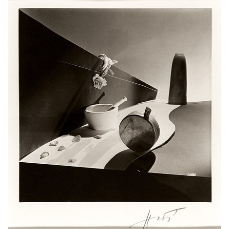 still life new york surreal beauty cream by horst p horst