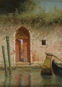 venetian red gate by burr h. nicholls