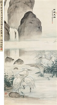 源开五鹭 by liu kuiling