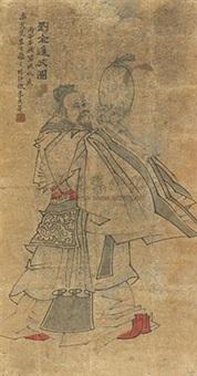 刘全进瓜图 by li guangdi
