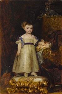 erzherzogin marie valerie von österreich als kind by hans makart