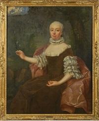 portrait einer adeligen dame by jean fournier