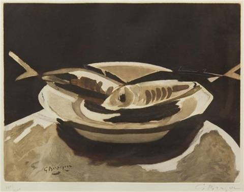 poissons by georges braque