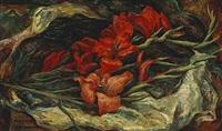 gladiolas by martin baer