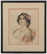 young gypsy by arnaldo de lisio