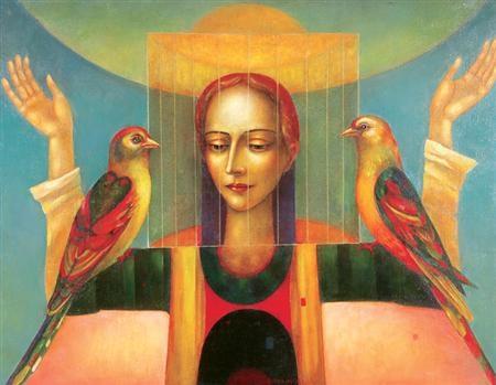 meditation by mikhail aleksandrov