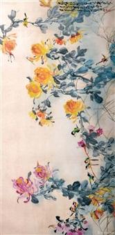花鸟画 by zhao shaoang