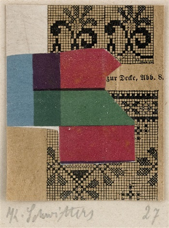 untitled zur decke abb 8 by kurt schwitters