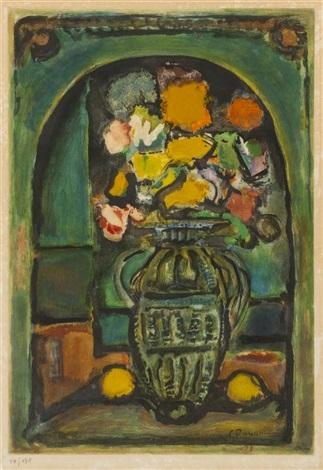 les fleurs decoratives by georges rouault