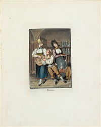 costumes suisses... (bk w/27 works, 8vo) by franz hegi