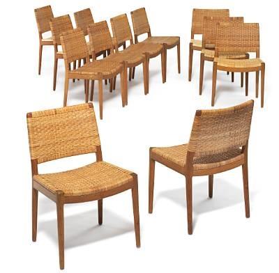Jh 504 Chairs (set Of 12) By Hans J. Wegner