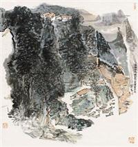 北国林泉 by liu gang