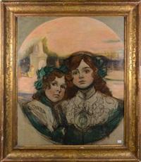 les deux fillettes by auguste leroux