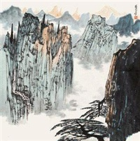 黄山 by xue liang