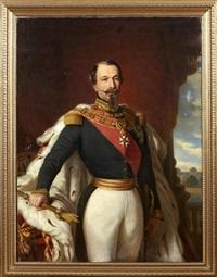 porträtt föreställande napoléon iii, charles louis napoléon bonaparte by franz xaver winterhalter