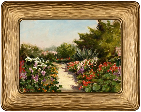 the garden path by william adam