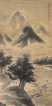米家山水 by xu yuan
