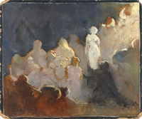 pygmalion (double-sided) by charles webster hawthorne