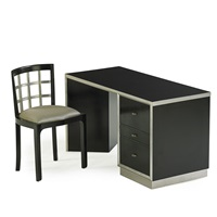 desk and chair by paul t. frankl