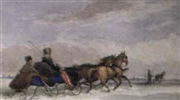 sleigh ride and guide, montreal district by james d. duncan
