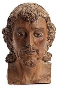 cabeza de un santo by antonio francisco (aleijandinho) lisboa