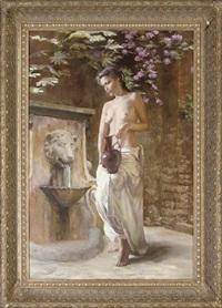 gathering water by dmitri kolujni