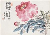 牡丹富贵 (peony) by chen banding