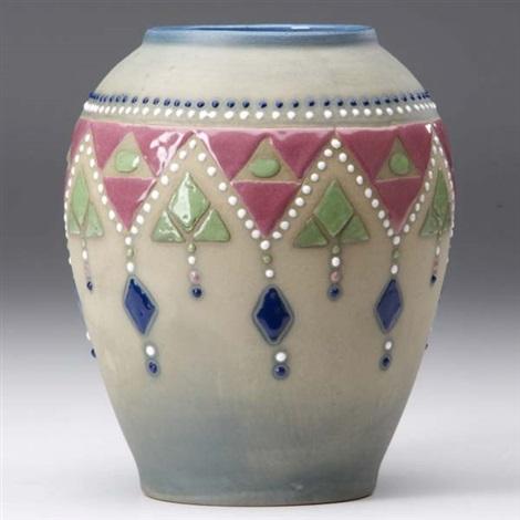 Jewel Vase By Brush Mccoy Pottery Company On Artnet