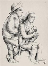 familie by georg hans (müller-rehm) müller