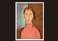 girl in pigtail by amedeo modigliani