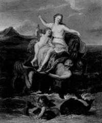 der triumph der galatea by françois (le moine) le moyne