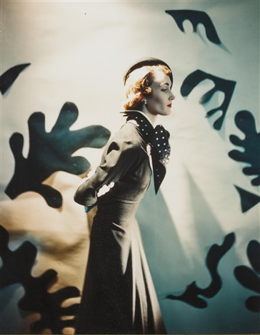 leslie morris ensemble descat hat matisse cutouts by cecil beaton