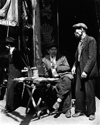 vendor on mott street by andreas feininger