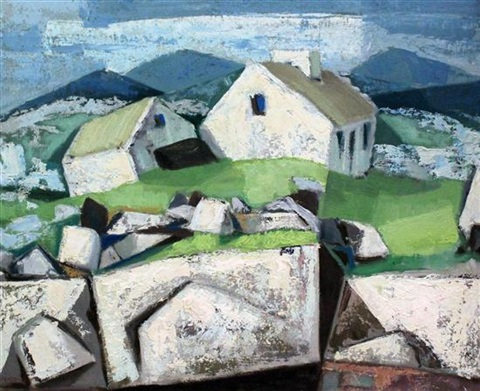 mayo cottages by arthur armstrong