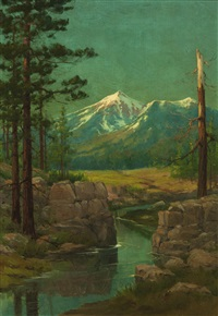 landscape, flagstaff, arizona by louis b. akin