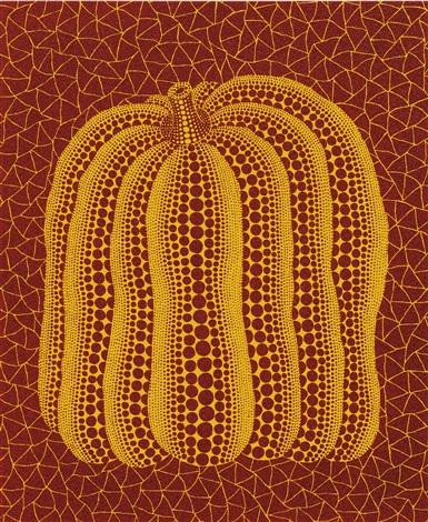 a pumpkin rt by yayoi kusama